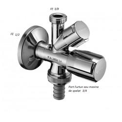 Robinet coltar combinat Schell Comfort 1/2-3/8