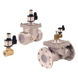 Electrovalva gaz ND EVRM-NA2 - 5 inch (DN125) + Detector gaz